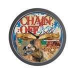 Chain Off 2011 Wall Clock