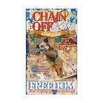 Chain Off 2011 Sticker (Rectangle 10 pk)