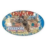 Chain Off 2011 Sticker (Oval 10 pk)