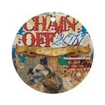 Chain Off 2011 Ornament (Round)