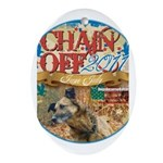 Chain Off 2011 Ornament (Oval)