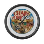 Chain Off 2011 Large Wall Clock