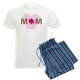"""I heart Mom"" pajamas"