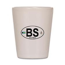 Bahamas Euro Oval Shot Glass