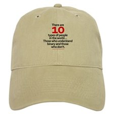 Binary Baseball Cap