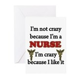 Cool Male nurse Greeting Cards (Pk of 10)