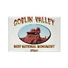 Goblin Valley Utah Rectangle Magnet