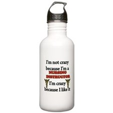 Funny Student Water Bottle