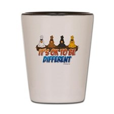 It's OK To be Different Shot Glass