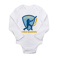 Cricket India Champions Long Sleeve Infant Bodysui