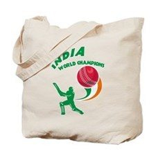 Cricket India Champions Tote Bag