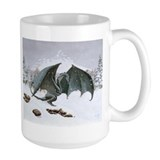 Winter Dragon:  Coffee Mug