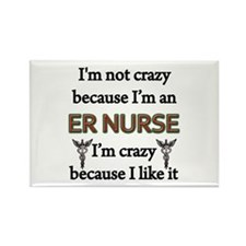 Cute Humorous nursing Rectangle Magnet (10 pack)