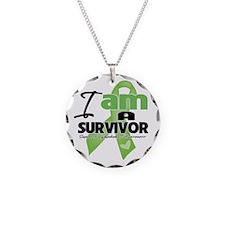 I am a Survivor Lymphoma Necklace