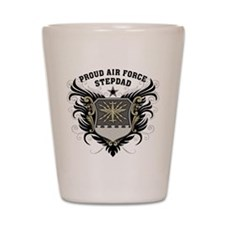 Proud Air Force Stepdad Shot Glass