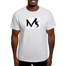 Mynuskris Ash Grey T-Shirt