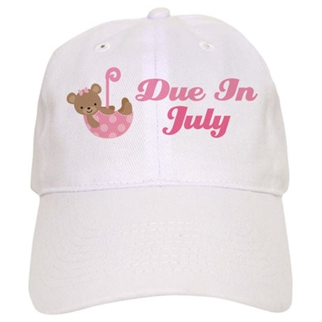 Due In July Pregnancy Announcement Cap