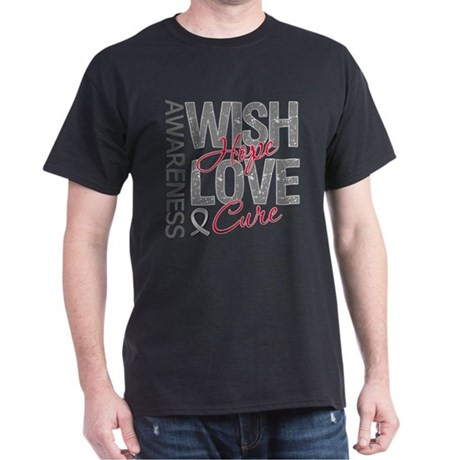 Diabetes Wish Hope Cure Dark T-Shirt