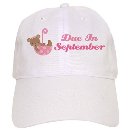 September Maternity Announcement Due Date Cap