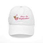 September Maternity Announcement Due Date Cap