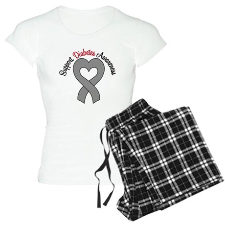Support Diabetes Awareness Women's Light Pajamas
