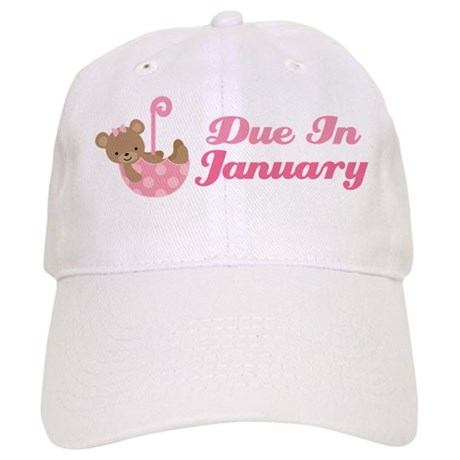Due In January Pregnancy Announcement Hat
