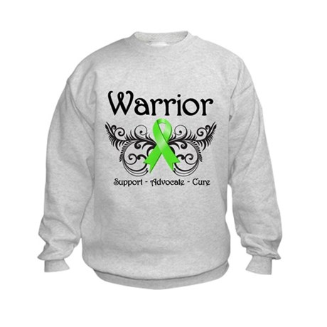 Warrior Lymphoma Kids Sweatshirt