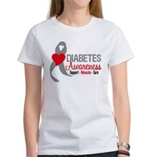 Diabetes Support Cure Tee