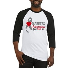 Diabetes Support Cure Baseball Jersey