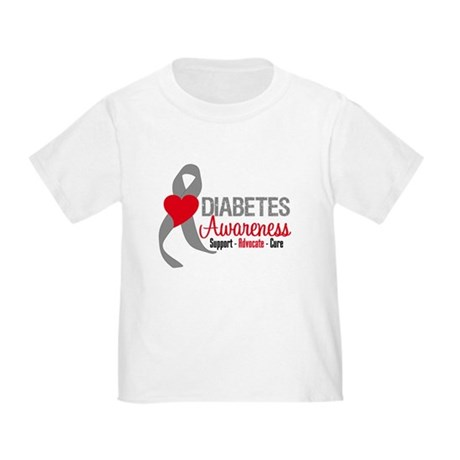 Diabetes Support Cure Toddler T-Shirt