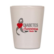 Diabetes Support Cure Shot Glass