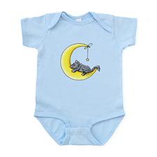 Gray Tabby Lunar Love Infant Bodysuit