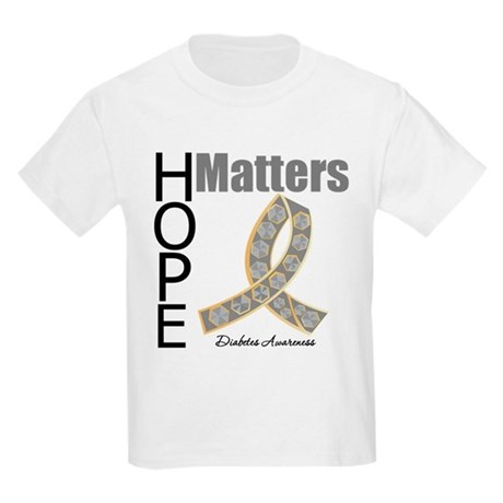 Diabetes Hope Matters Kids Light T-Shirt