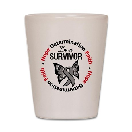 Diabetes I'm A Survivor Shot Glass