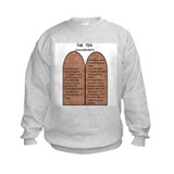 The Ten Commandments Sweatshirt