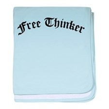 Free Thinker (Old Style) baby blanket