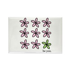 be you Rectangle Magnet