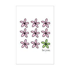be you Mini Poster Print