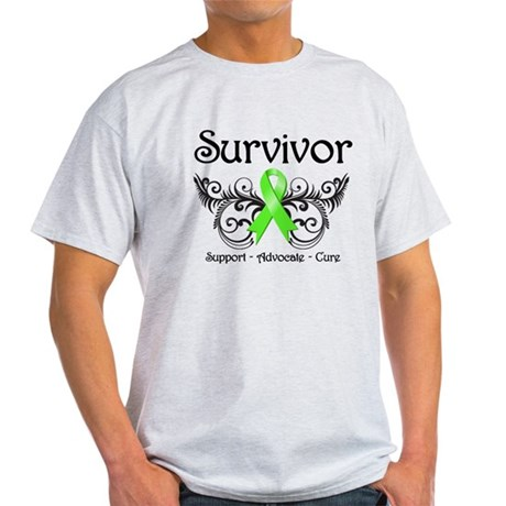Survivor Ribbon Lymphoma Light T-Shirt