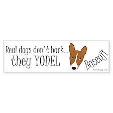 they YODEL! Bumper Sticker