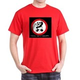 raging panda Black T-Shirt