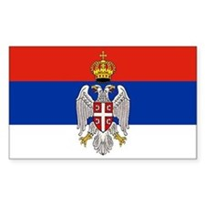 Serbian Bumper Decal