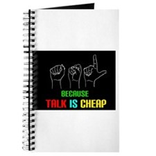 Talk is Cheap Journal