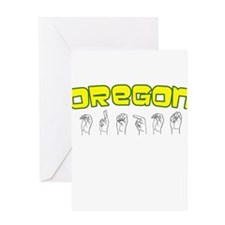 Oregon Design Greeting Card