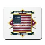 9th Indiana Volunteer Infantr Mousepad