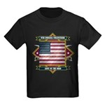 9th Indiana Volunteer Infantr Kids Dark T-Shirt