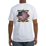9th Indiana Volunteer Infantr Fitted T-Shirt