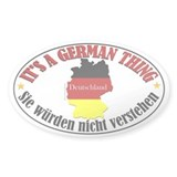 German Thing Decal