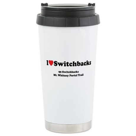 Switchbacks Mt. Whitney Ceramic Travel Mug