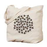 Honeybee Swarm Tote Bag